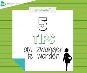 5 tips om zwanger te worden